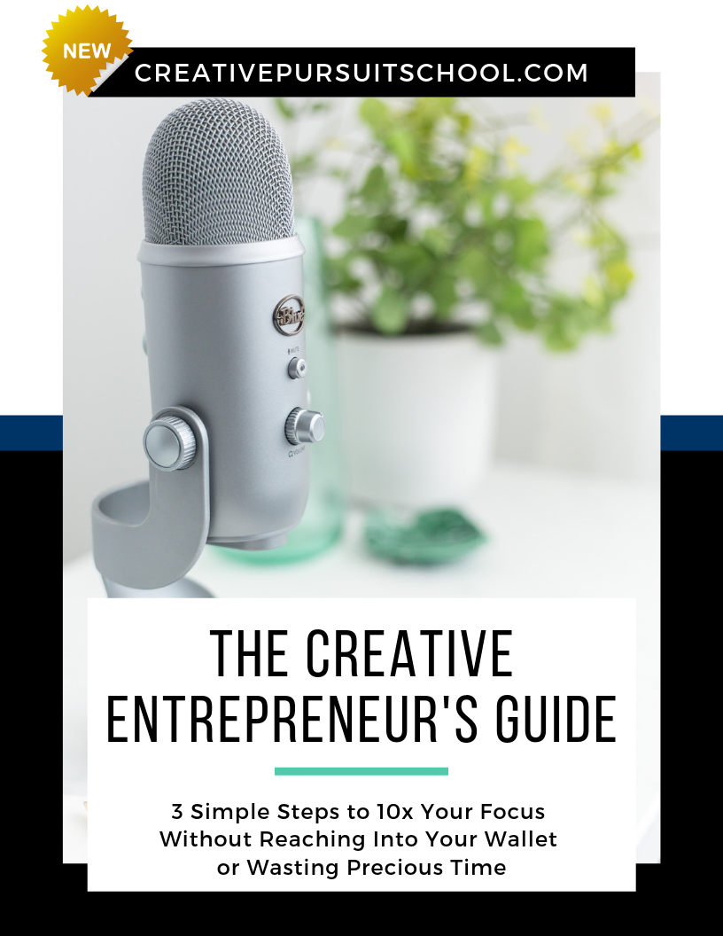 Creative Entrepreneurs Guide to Boost Your Focus